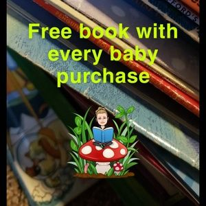 ❤ Free book with every baby purchase ❤